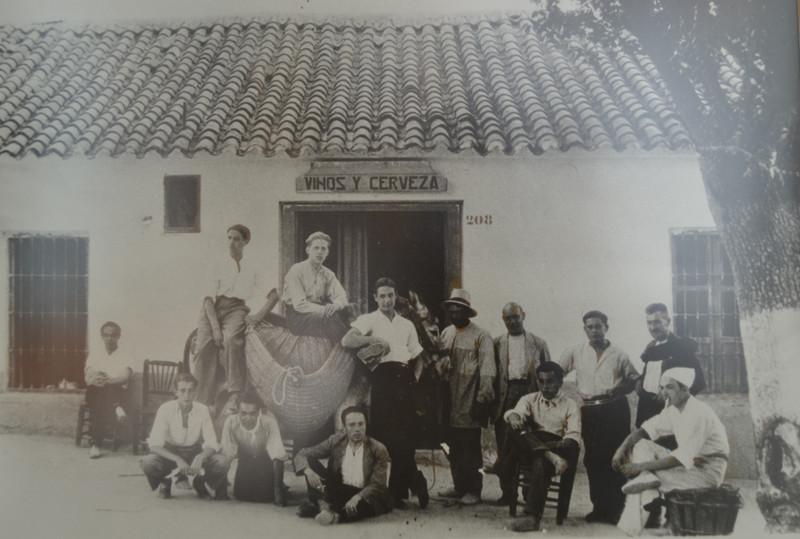 Restaurante Alambique en sus inicios