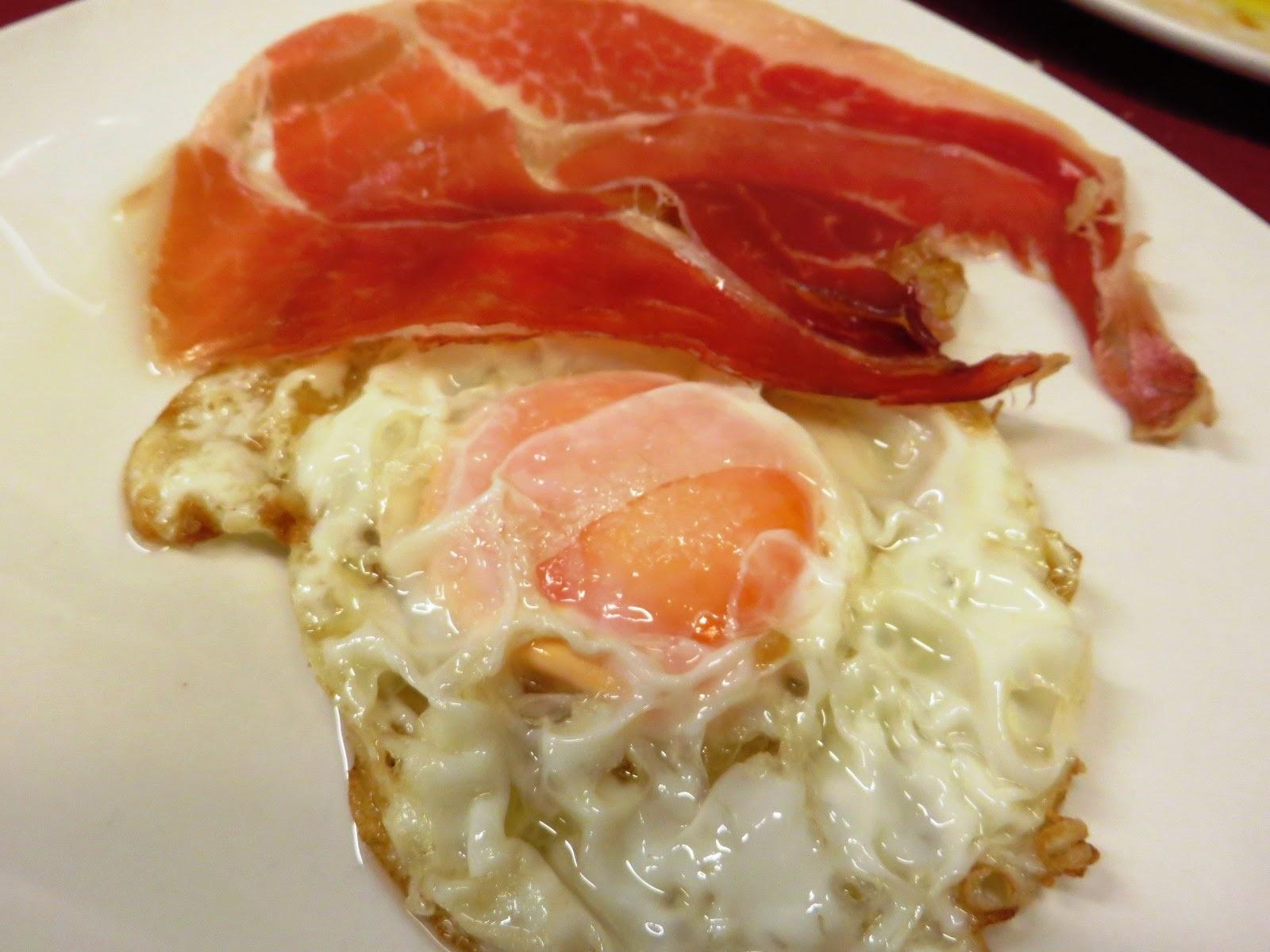 huevos fritos con jamon jaen